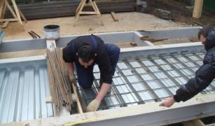 Опалубка из профнастила - снижение сроков строительства