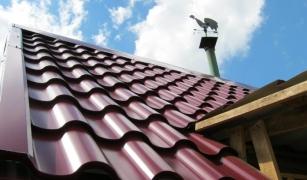 Что выбрать для крыши: металлочерепицу или профнастил?